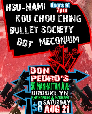 Hsu-nami Promotional Poster